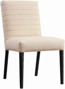 Modern Loft Channel Back Side Chair