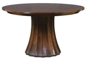 Split Base Pedestal Table
