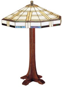 Cross Base Table Lamp