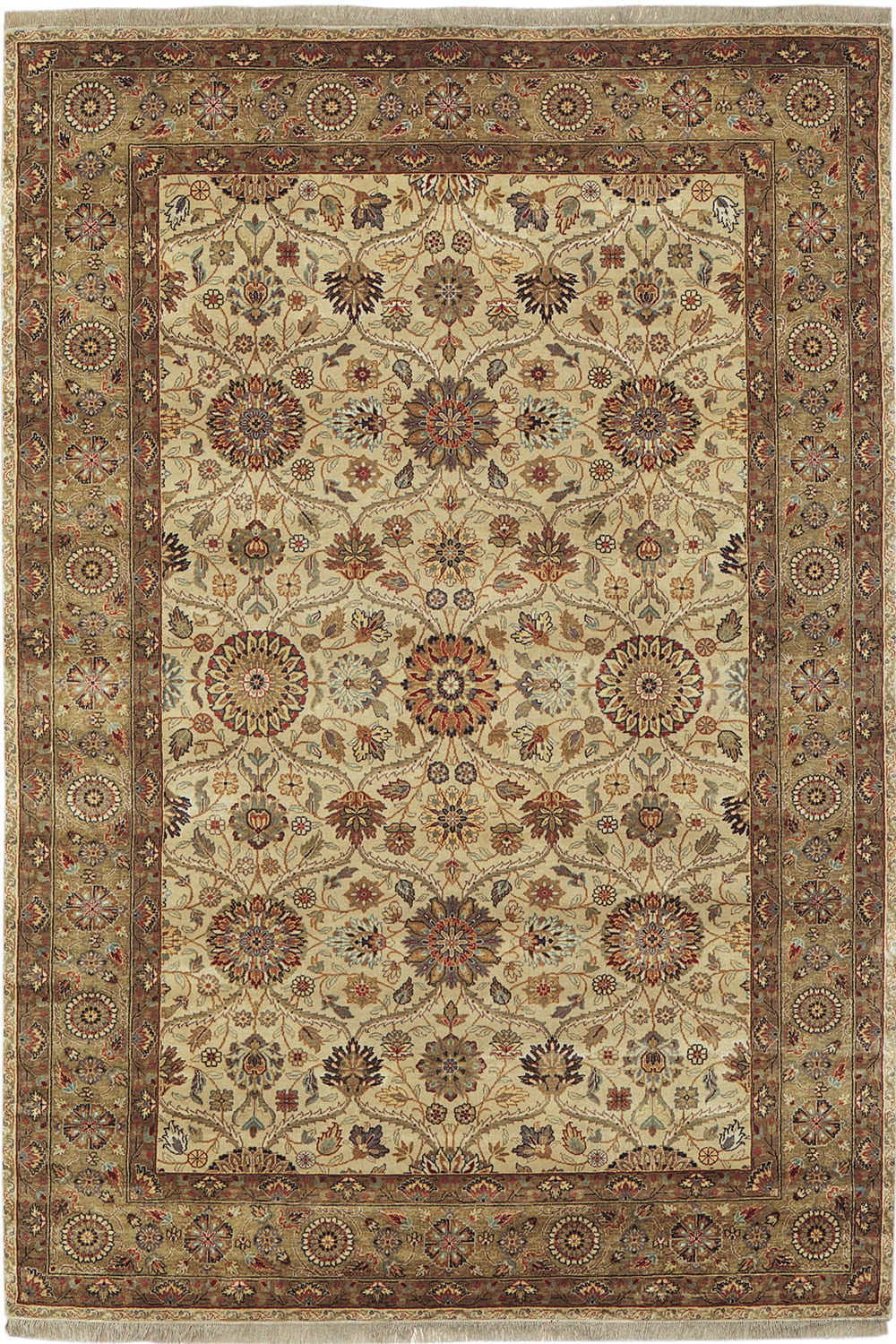 Mughal Silk Ivory Designer Rugs Collection Stickley Furniture