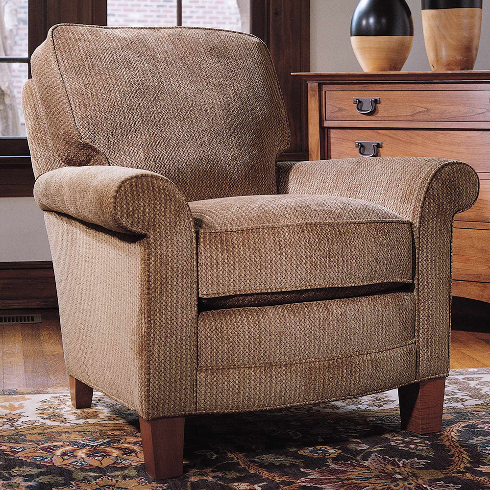 Oberlin Easy Chair Stickley Fine Upholstery Collection Stickley Furniture