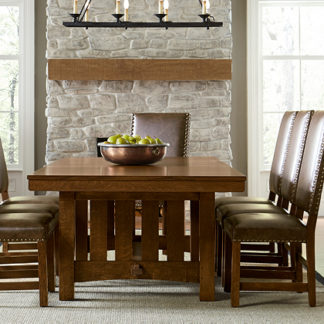 MISSION  The honest hardwoods and traditional joinery that make Mission furniture strong and long-lasting are also visible features that give it its intrinsic beauty.